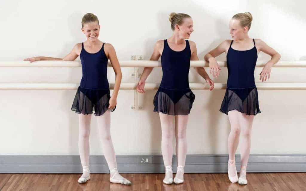 Teen dancing panties
