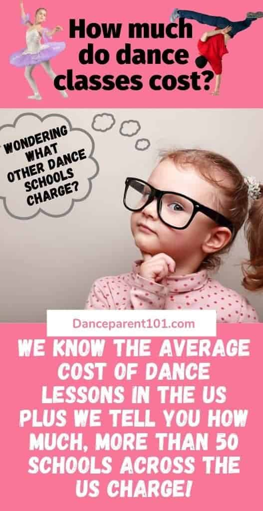 How much do dance or ballet classes cost? We investigated lesson costs at over 50 dance schools across the US and found out how much on average you will pay! #dance #ballet #class #lessons #school #studio #parenting #tips #advice #afterschool #activities
