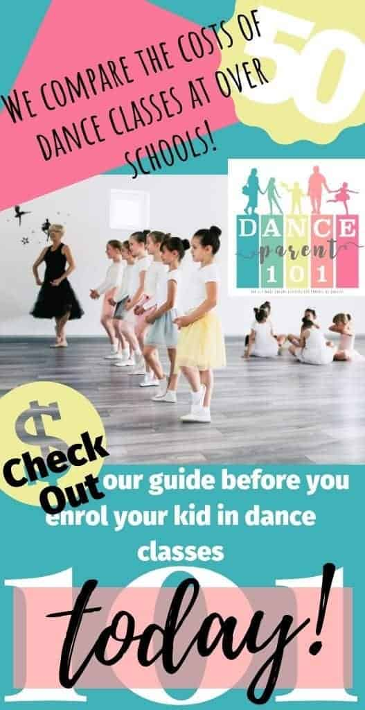 How much do dance or ballet lessons cost? We researched the data on over 50 dance schools across the US to find out how much an average dance class costs! #dance #ballet #class #lessons #school #studio #parenting #tips #advice #afterschool #activities