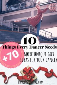 This is the greatest list of dance gifts!! Go look at it now! It has links to everything whether I need a gift for after a recital, for a birthday or for christmas! Love it! #dance #ballet #birthday #christmas #gift