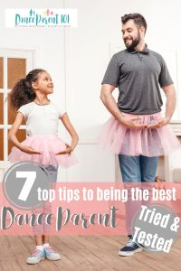How to be a good dance parent: 7 tips from seasoned dance moms & dads. Different dance parents give their top tips and tricks that make them feel as though they are on top of the dance parenting ball! #parenting #dance #ballet #balletclass