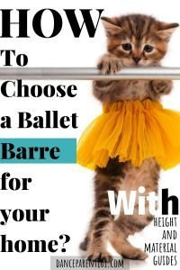 Soooo Cute. The article this links to is great and really explains the best options for buying a ballet barre for your home or kid? #dance #ballet #barre #buyersguide