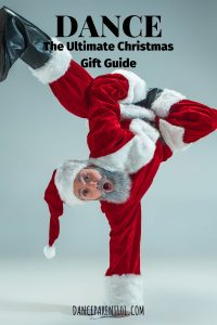 I love this break dancing Santa! The gift guide is fantastic too - so many ideas! Highly recommend it!  #dance #ballet #birthday #christmas #gift
