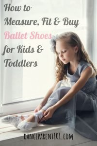 How to measure, fit and buy ballet shoes for toddlers & kids. You need to read this article it is the complete guide with everything you need to know from the types of material ballet shoes come in, how to measure your child's foot, how to buy them and more! #balletshoes #ballet #dance #danceshoes