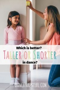 Should I be worried about my kids height in dance? Which dancers have the most success? #dance #ballet #tallvsshort #danceparent
