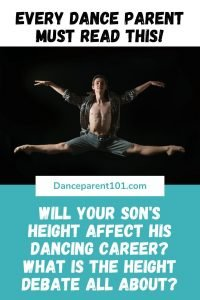 Will my sons height affect his dancing career? is there a best height for dancers? Why is this even an issue? #dance #ballet #tallvsshort #danceparent