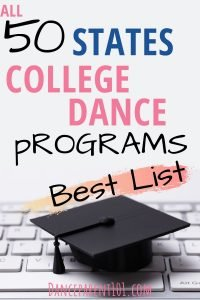 College & University Dance & Ballet Degrees Ultimate List: Choosing a Major, Advice, Planning, Study