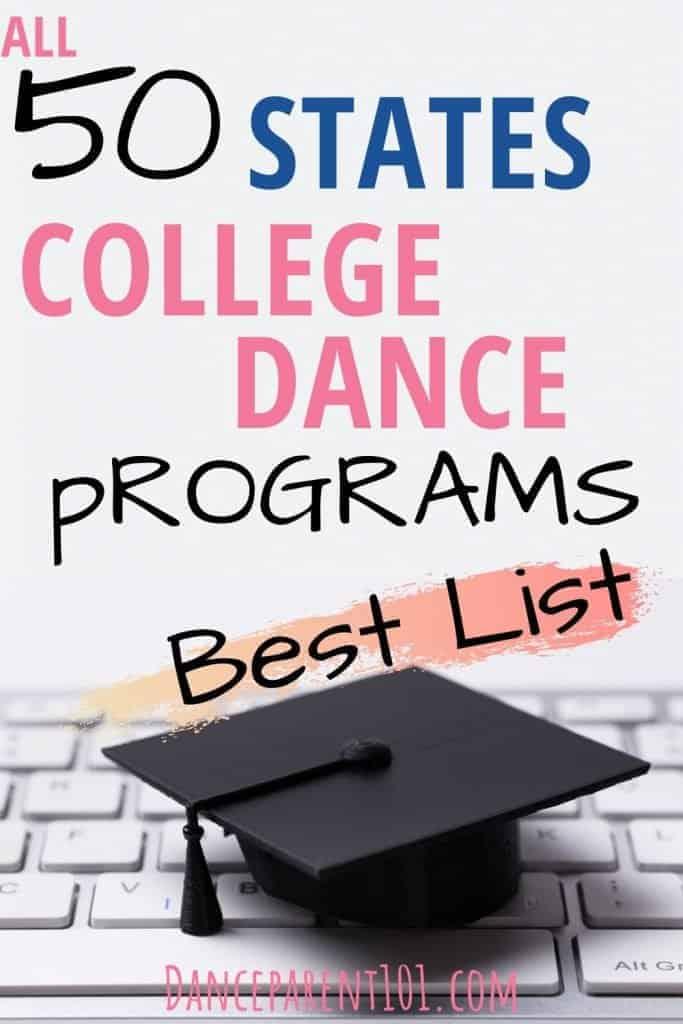 College & University Dance & Ballet Degrees Ultimate List: Choosing a Major, Advice, Planning, Study
