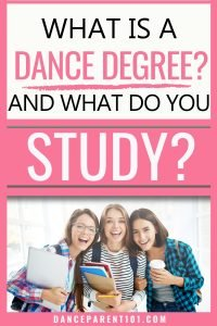 College Dance Majors and dance degrees explained! Ever wondered if you could study dance at university? Well, you can by studying a bachelor's degree and major in dance or even ballet. Our post explains the basics from what a major is, to the different courses you might take as a Dance Major! You can even take hip hop as a minor! Read to help college planning, prep and get ideas and tips on choosing your career goals and education journey!
