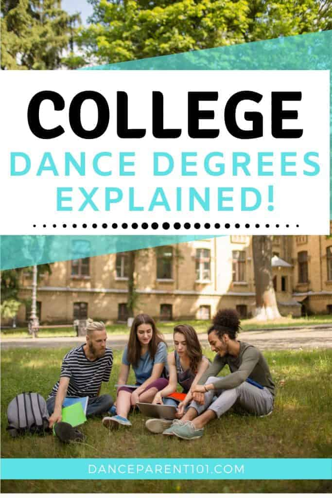 College and University Dance and Ballet Degrees Explained. Tips & Facts for Freshman, Sophomore, Junior, Senior, High School students, dance teams, dancers, ballerinas, cheer leaders, moms, dads and parents about Bachelor of Science, Bachelor of Art major studying. College planner, Classical Ballet, Modern, Contemporary, Musical Theatre, Education level, College prep, school, organization, planning, goals, choosing, application, college advice, teacher, classroom #college #Dance #Major #Tips
