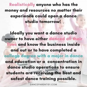 Teaching Dance Without a Qualification