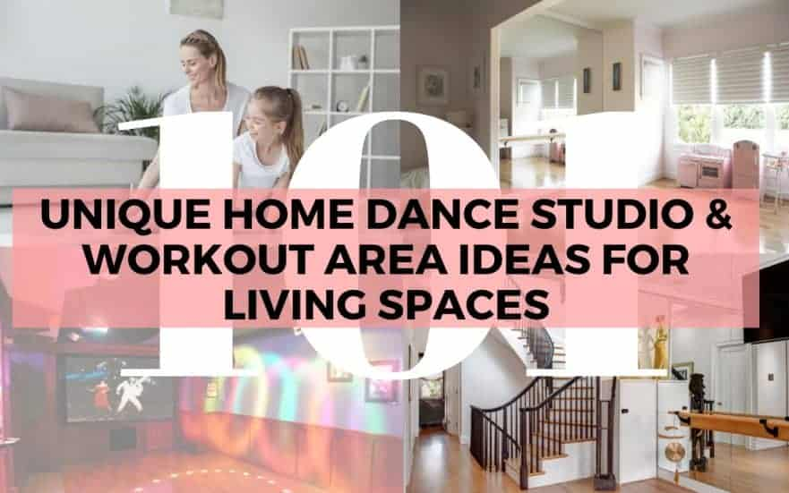 Dance Studio Workout Area Ideas