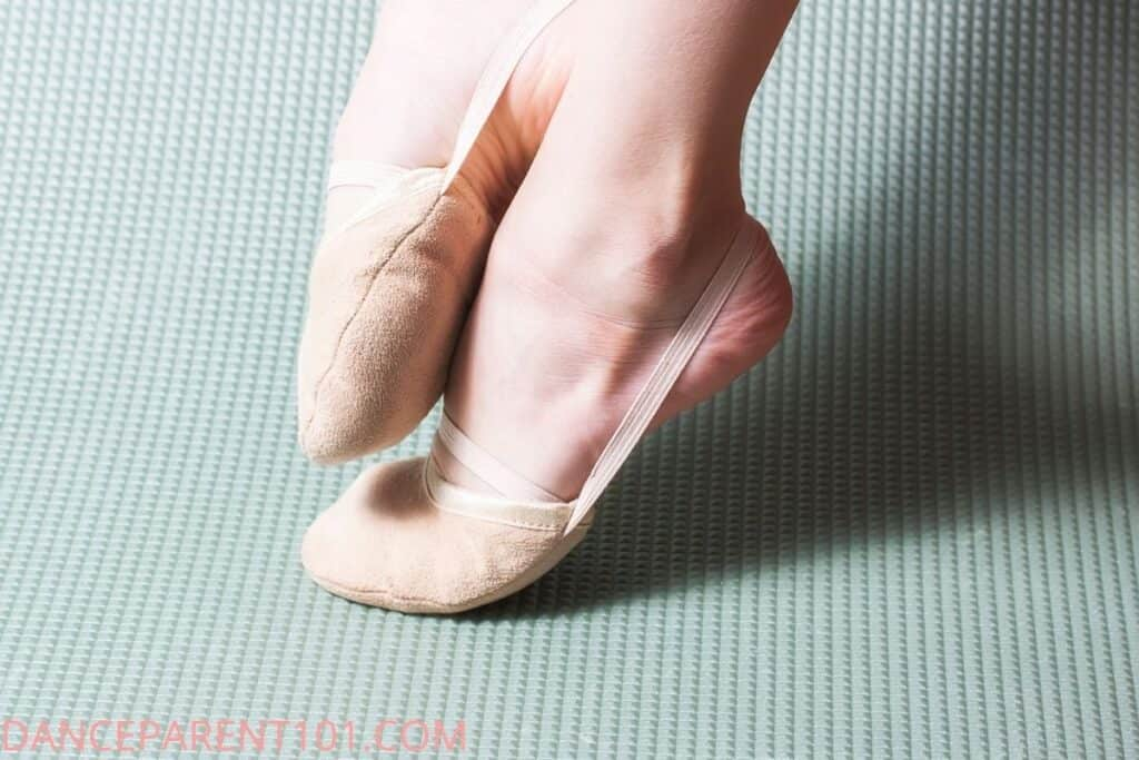Half Sole Dance Shoe